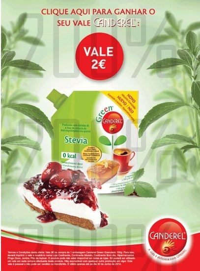 Vale de 2€ para imprimir | CANDEREL | via facebook