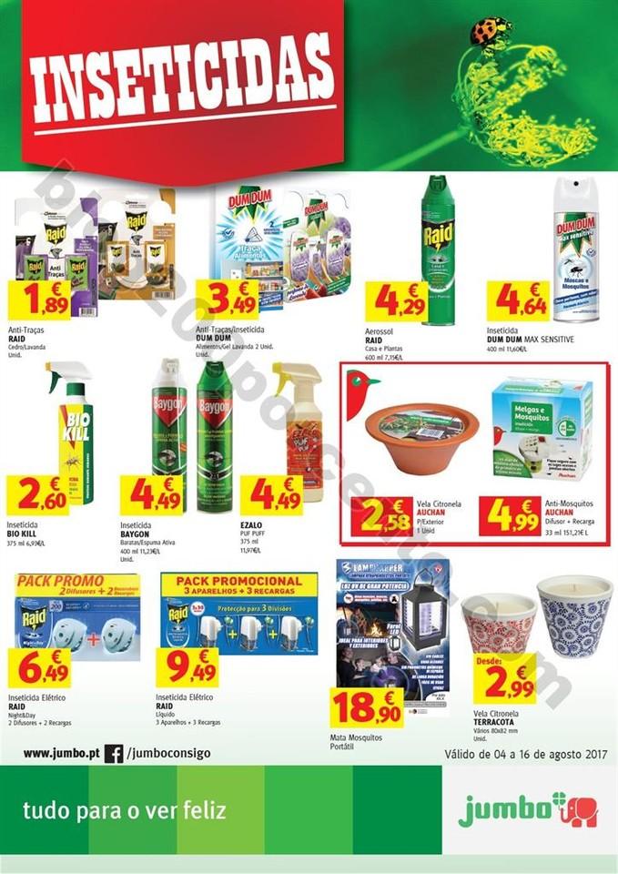Novo Folheto JUMBO Extra Inseticidas promoções d
