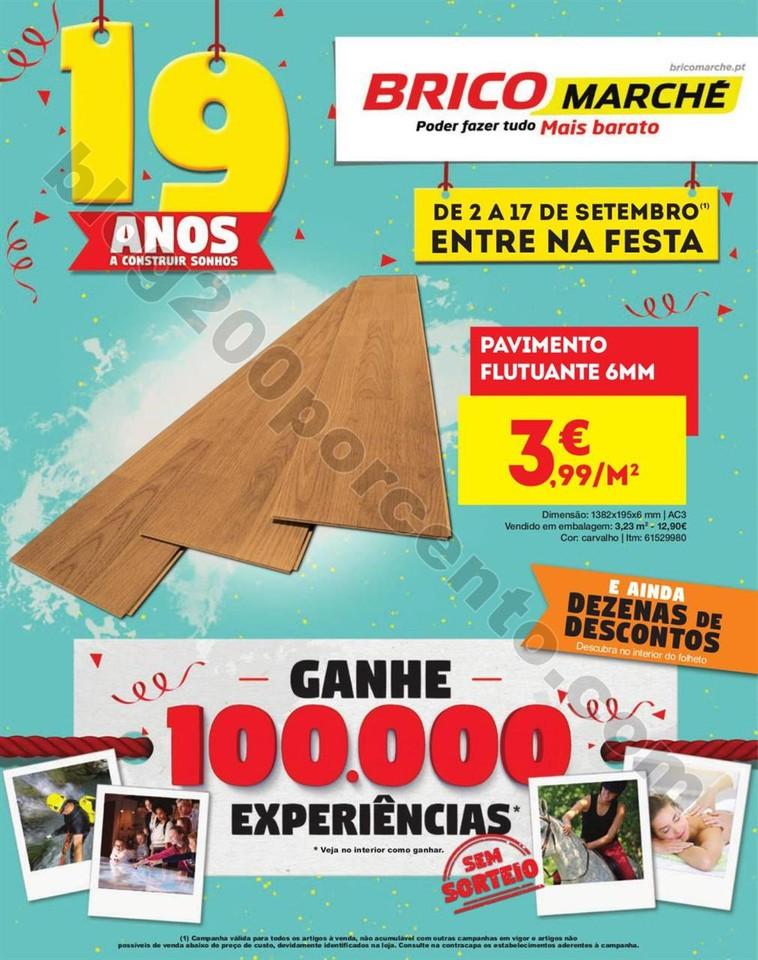 Antevisão Folheto BRICOMARCHÉ Promoções de 2 a
