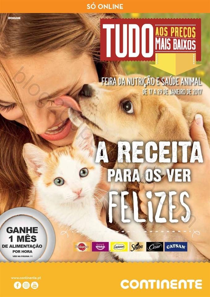 Novo Folheto CONTINENTE Alimentação animal exclu