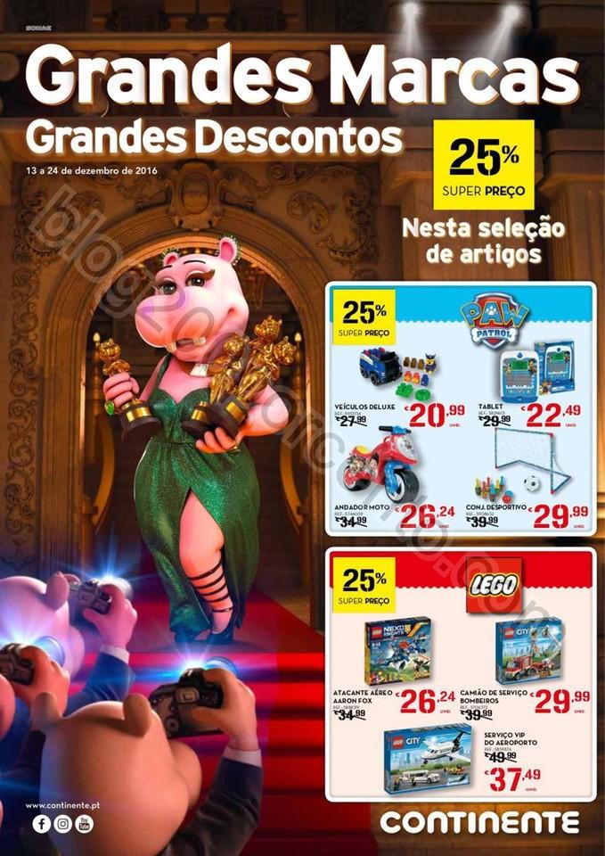 Antevisão Folheto Extra CONTINENTE Brinquedos pro