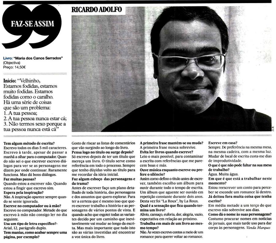 FAZ-SE ASSIM - Ricardo Adolfo