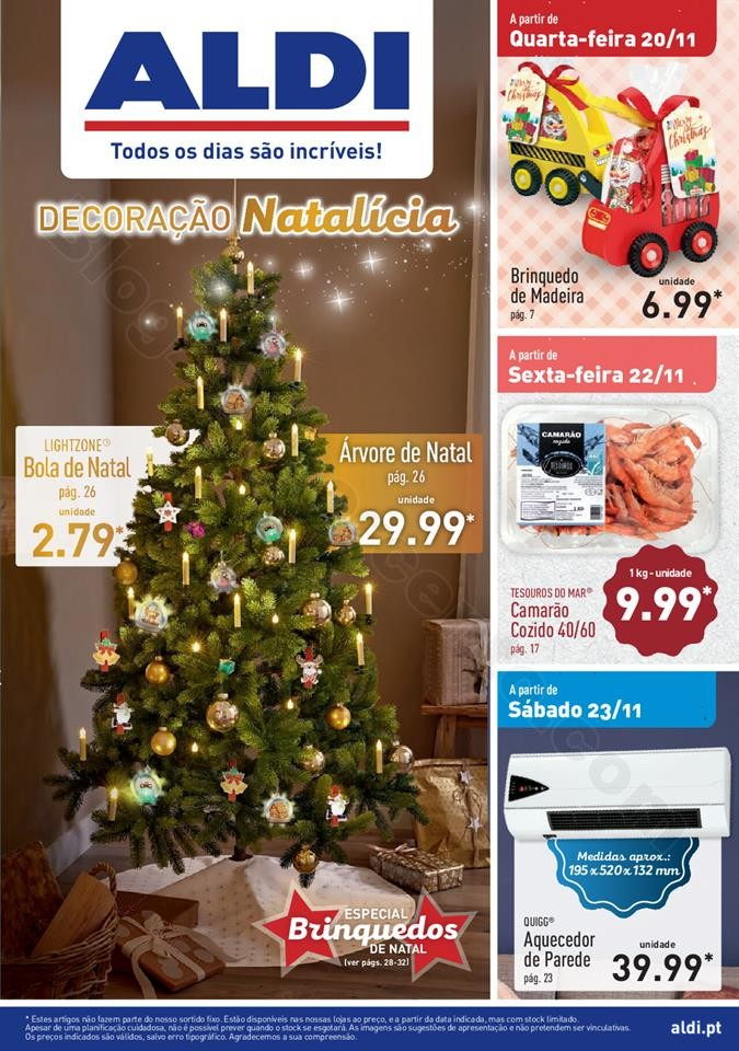 Antevisão Folheto ALDI Natal + Promoções a part