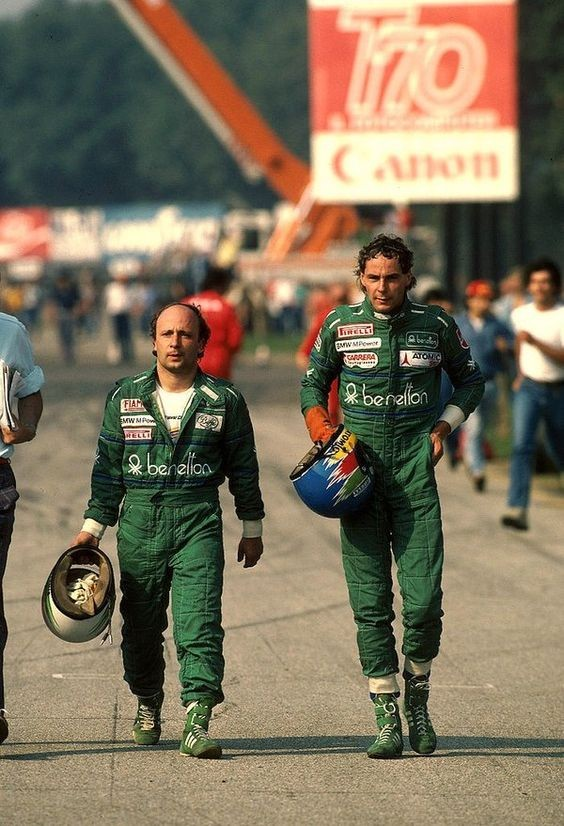 Teo Fabi and Gerhard Berger (Italy 1986).jpg