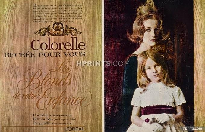 Colorelle da L'Oréal, 1963 (Imagem em Hprints.com)