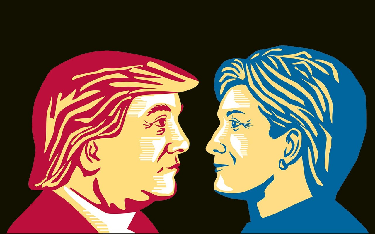 Trump-Hillary1 2016