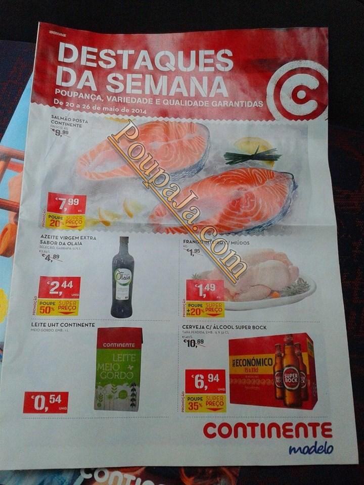 Antevisão Promoções Novo Folheto Continente- de 20 a 26 maio - Parte1