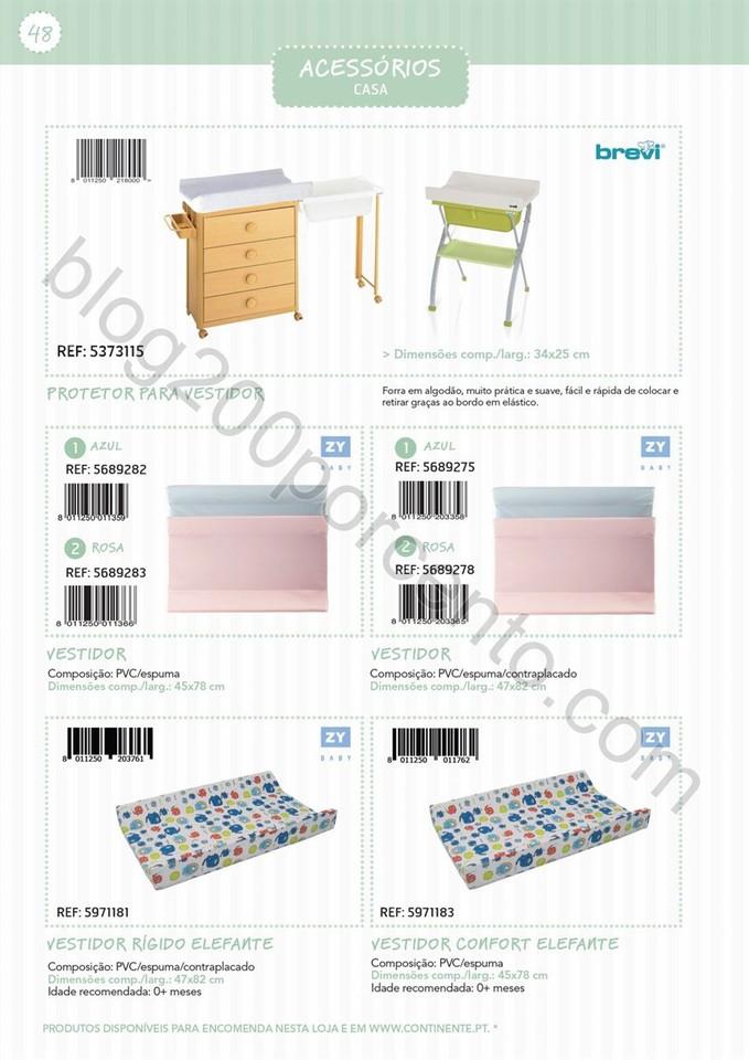 Catálogo técnico puericultura CONTINENTE Promoç