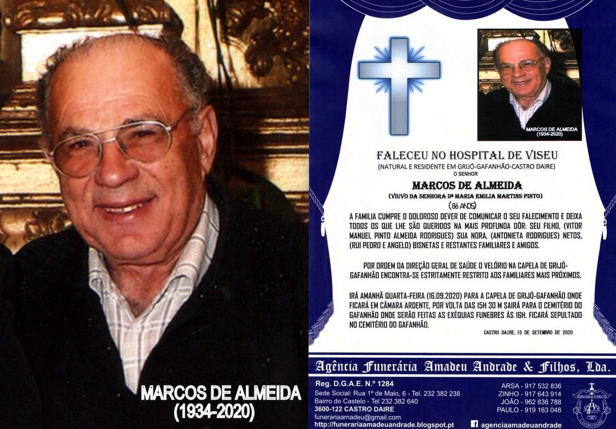 FOTO RIP DE MARCOS DE ALMEIDA -86 ANOS (GRIJÓ-GAF