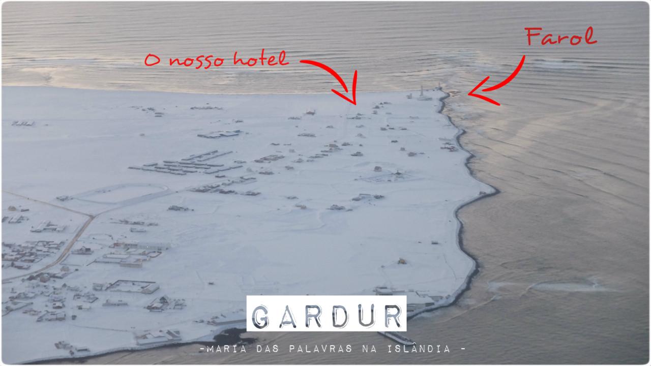 Gardur e o Farol - Maria das Palavras na Islândia