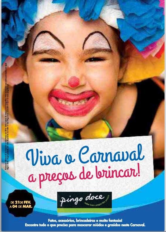 Novo folheto | PINGO DOCE | Carnaval de 21 fevereiro a 4 março