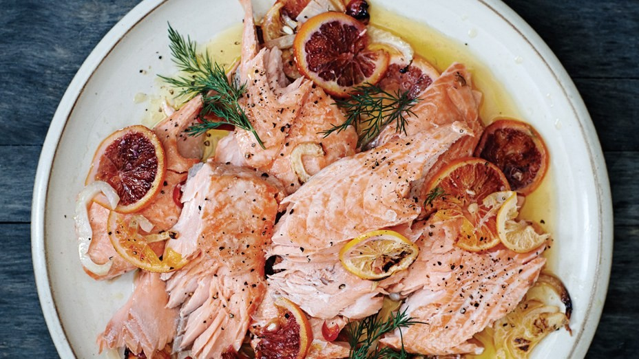 slow-roasted-salmon-with-fennel-citrus-and-chiles.