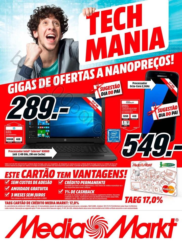 Antevisão Folheto MEDIA MARKT Promoções de 17 a