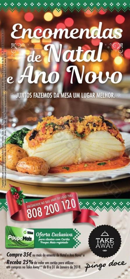 Antevisão Folheto PINGO DOCE Take Away Natal e An