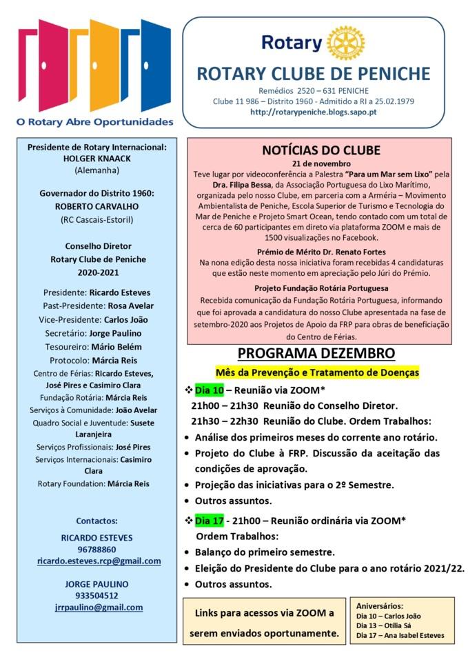 Programa de dezembro do Rotary Clube de Peniche_pa