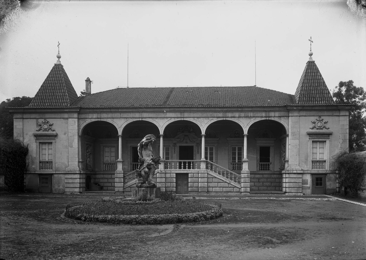 Palácio de Palhavã, embaixada de Espanha, jardim