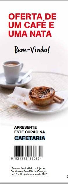 Oferta café e pastel de nata | CONTINENTE | Caneças