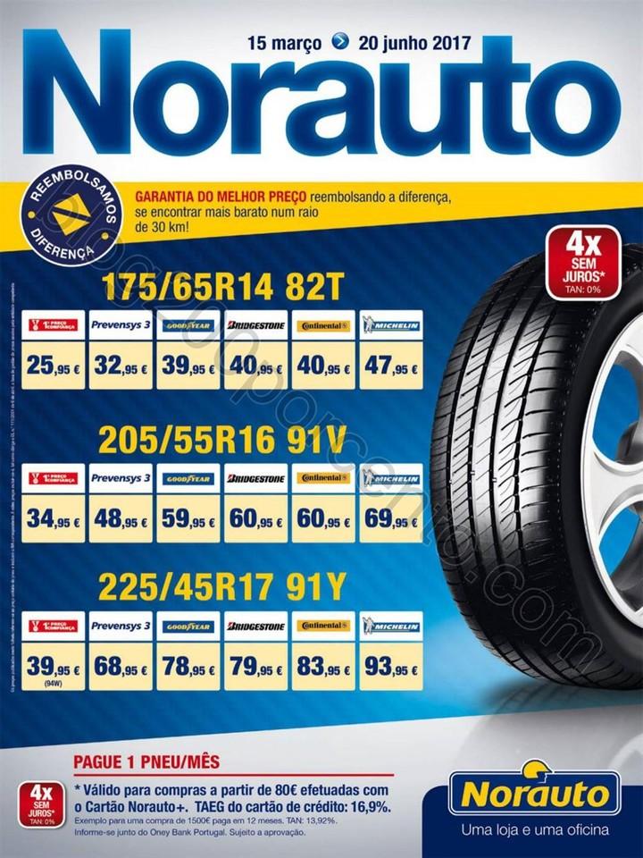 Novo Folheto NORAUTO Promoções de 15 março a 20
