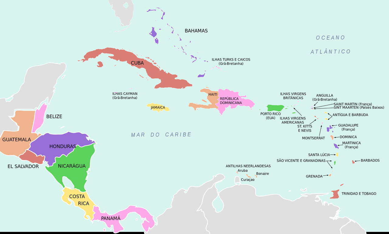 Mapa America Central_4