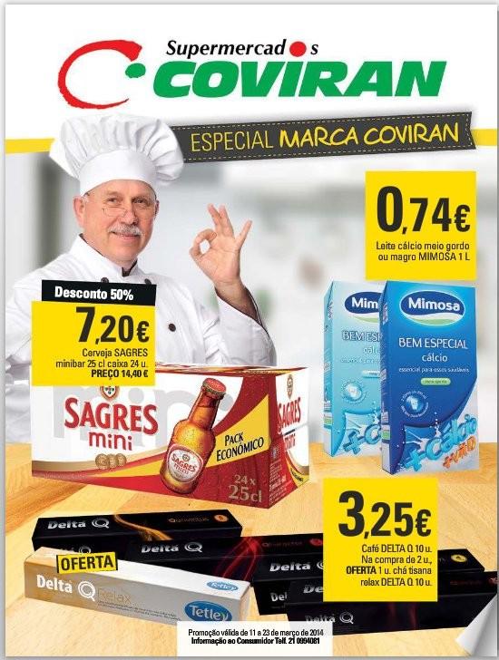 Antevisão folheto | COVIRAN | de 11 a 23 março