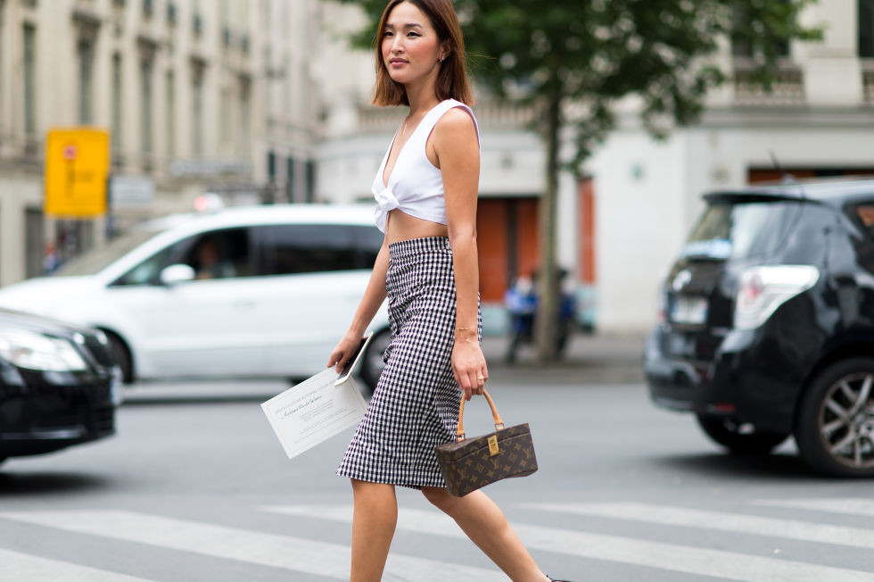 paris-couture-gingham-pencil-skirt-crop-top-summer