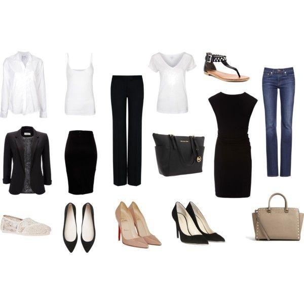Tubinho preto + blazer nude. | Rutinha | Trajes para o