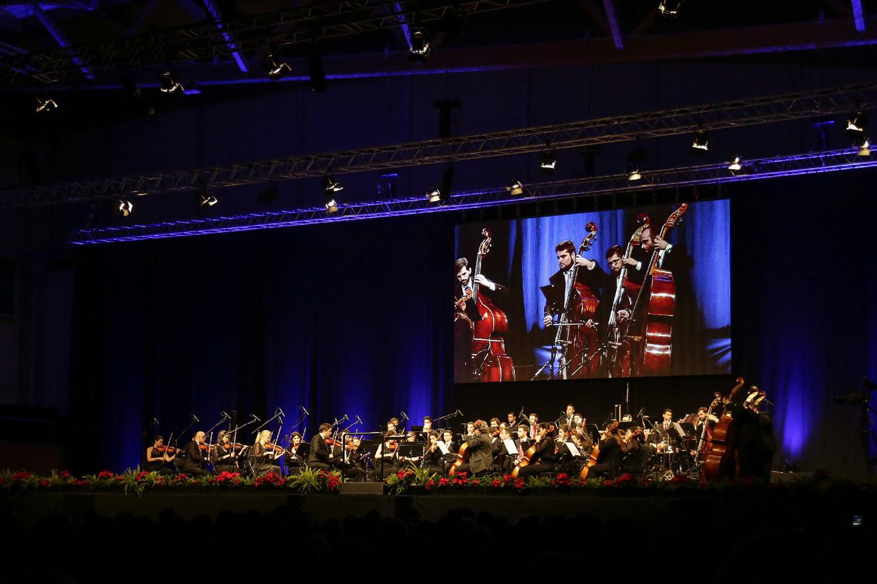 Grande Concerto de Natal  Orquestra Filarmónica P