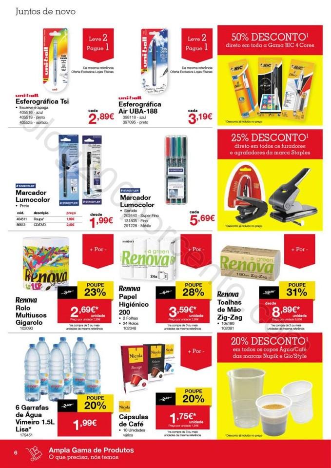Antevisão Folheto STAPLES Promoções de 26 a 31