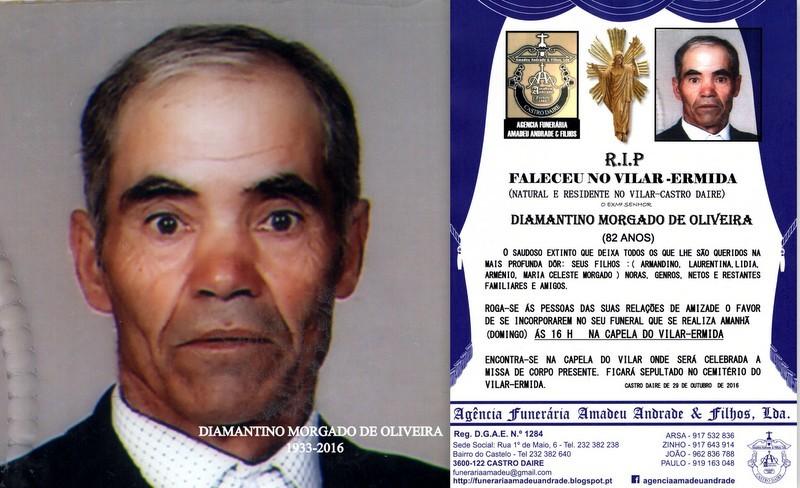 FOTO 5 DIAMANTINO MORGADO DE OLIVEIRA -83 ANOS (VI