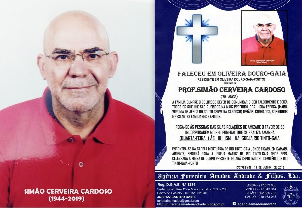 RIP-FOTO DE SIMÃO CERVEIRA CARDOSO-75 ANOS (OLIVE