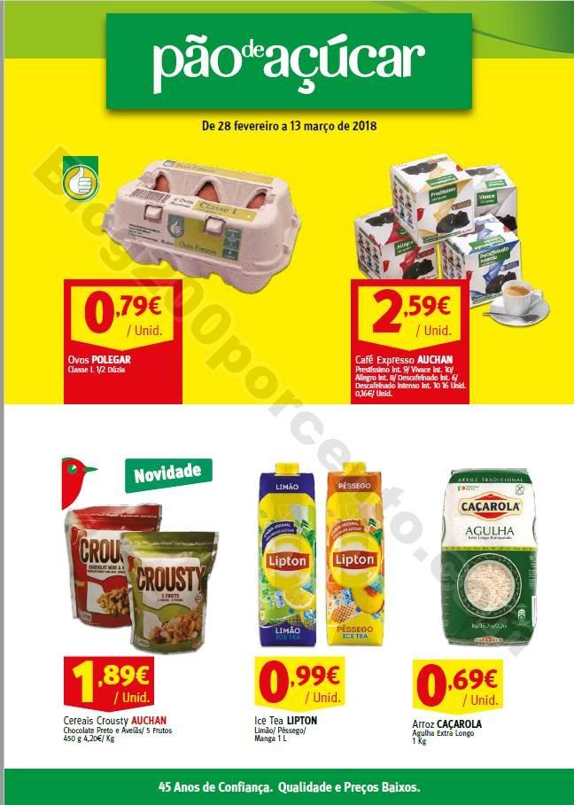 Antevisão Folheto PÃO DE AÇUCAR Promoções de