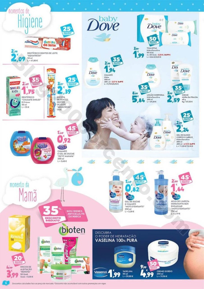 Antevisão Folheto E-LECLERC Bebé promoções de