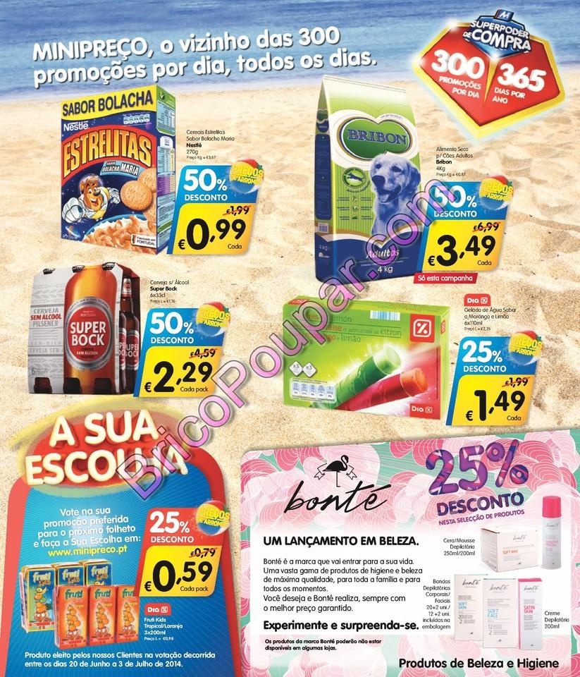 Antevisão Promoções Folheto Minipreço - de 17 a 23 de Julho