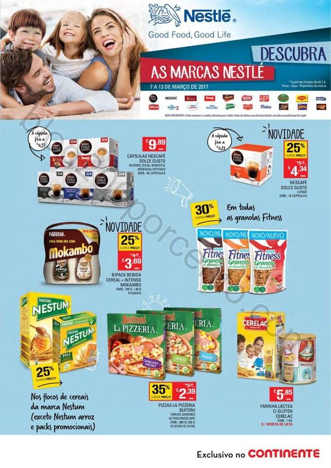 Antevisão Folheto Extra CONTINENTE Nestlé promo