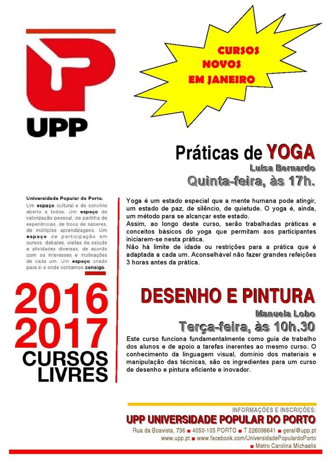 UPP Cursos Novos Jan 2017