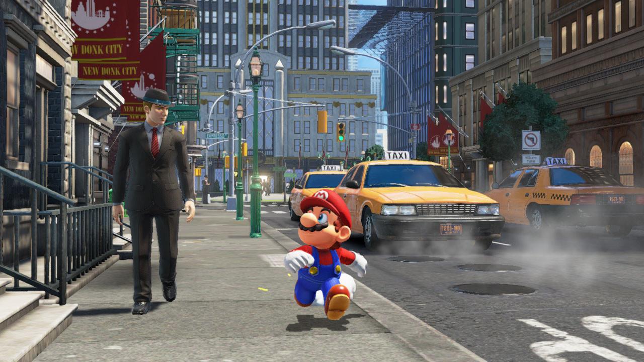 Imagem do trailer de Super Mario Odyssey