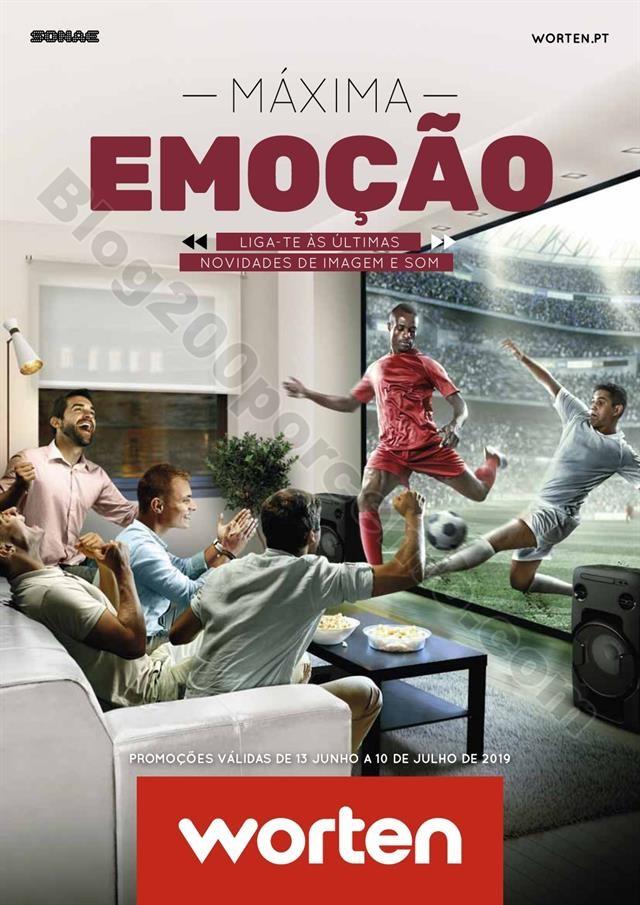 Antevisão Folheto WORTEN Especial Tv & Audiio Pro