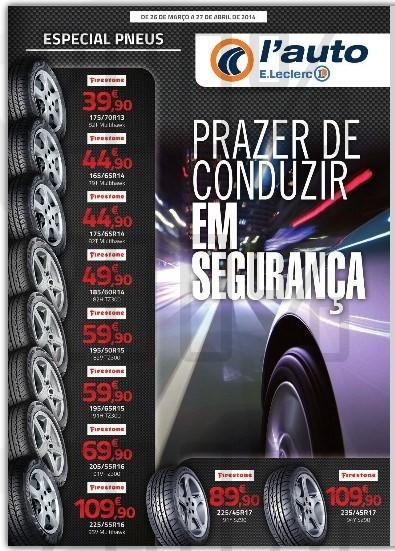 Novo folheto | E-LECLERC | Auto de 26 março a 27 abril