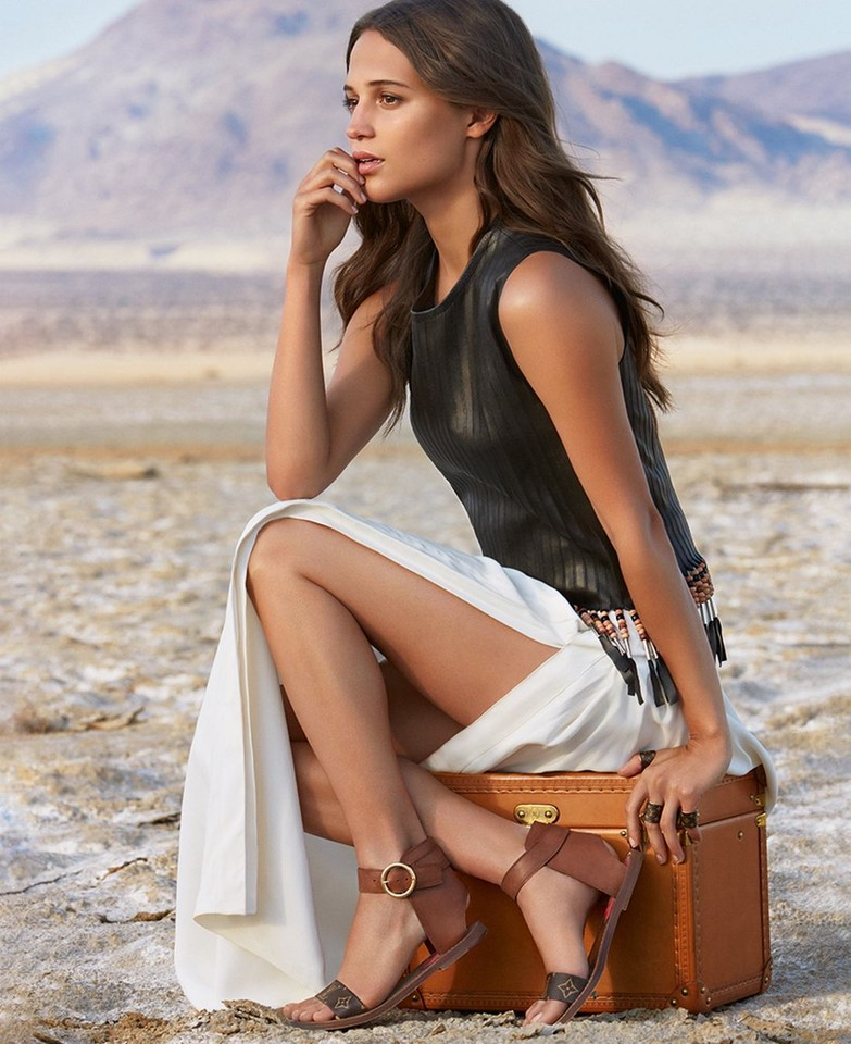 Alicia Vikander Louis Vuitton Spirit of Travel Cam