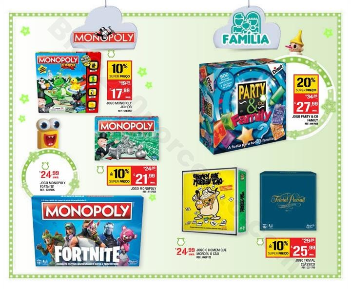 Antevisão Folheto CONTINENTE Catálogo Brinquedos