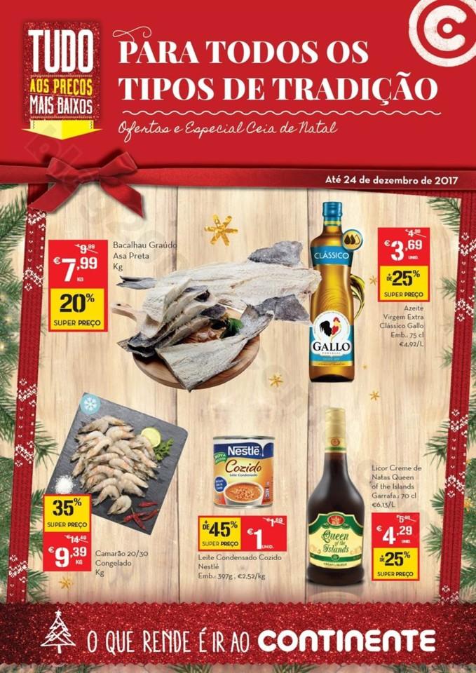 Antevisão Folheto CONTINENTE Açores Natal - 28 n