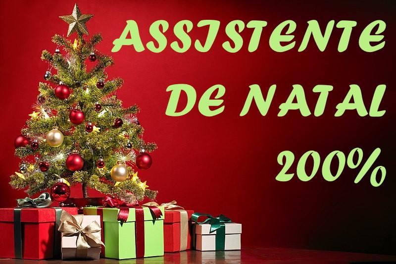 Assistente de Natal 200%