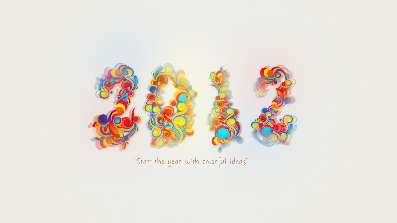 wallpaper imagem de fundo 2012 ano novo