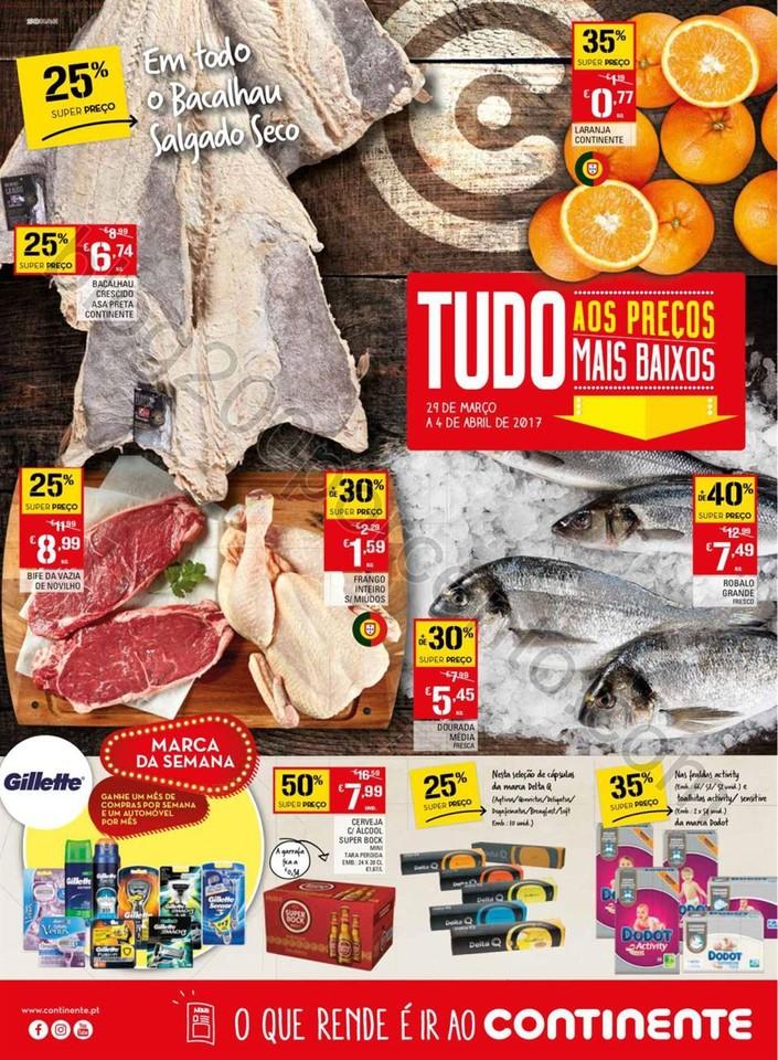 Folheto CONTINENTE Madeira promoções de 29 març