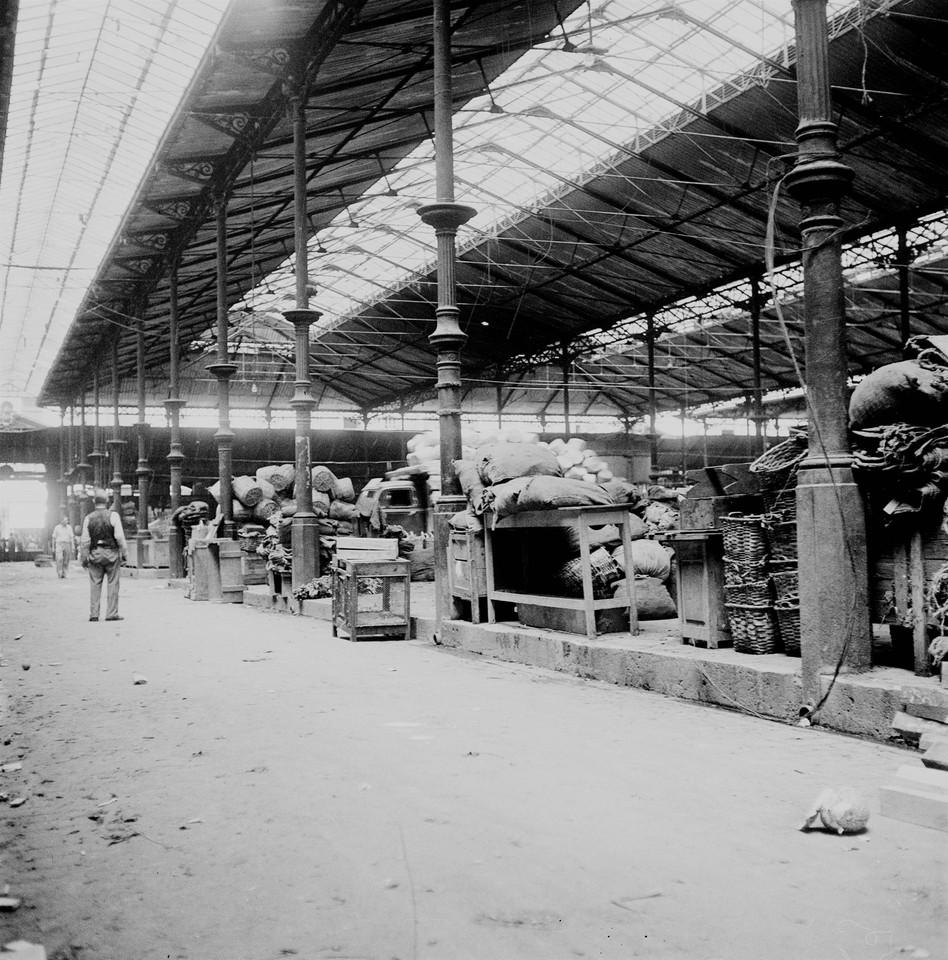 Mercado da praça da Figueira, levantamento dos ú