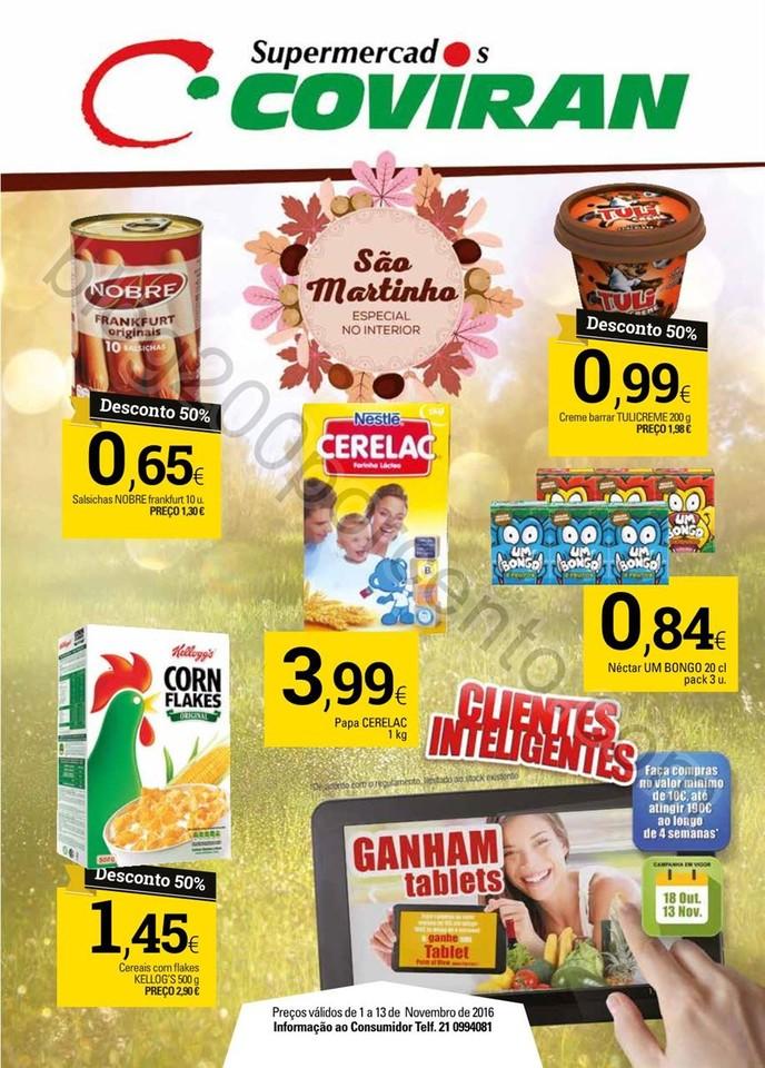 Antevisão Folheto COVIRAN Promoções de 1 a 13 n