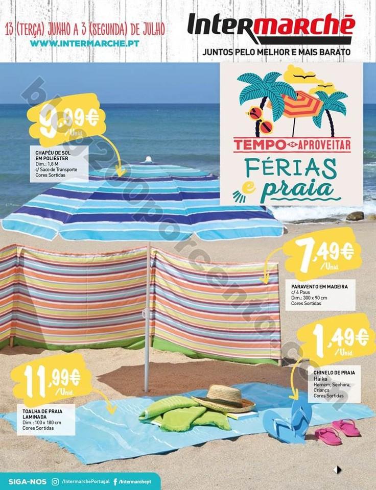 Antevisão Folheto INTERMARCHÉ Verão e Praia de