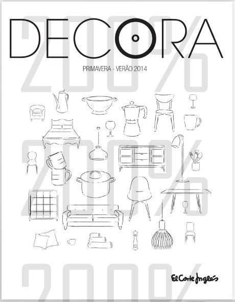 Novo folheto | EL CORTE INGLÉS | Decora - Primavera / Verão
