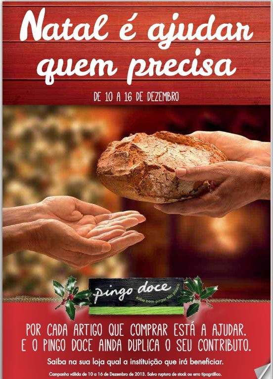 Novo Folheto / Campanha | PINGO DOCE | Natal Solidário