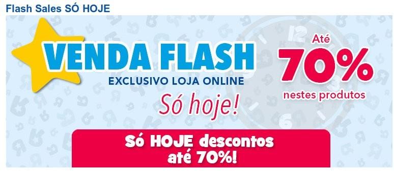 Flash Sales | TOYSRUS | até 70% desconto, só hoje